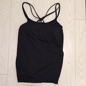 Built in bra work out tank